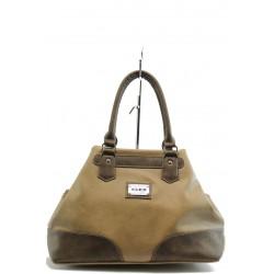 Дамска чанта светлокафява СБ 1099 св.кKP