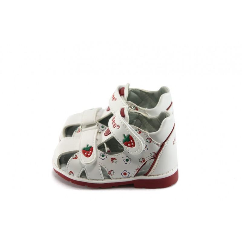 1374d95adaf Анатомични бебешки обувки бели КА F-73 бели 19/24KP