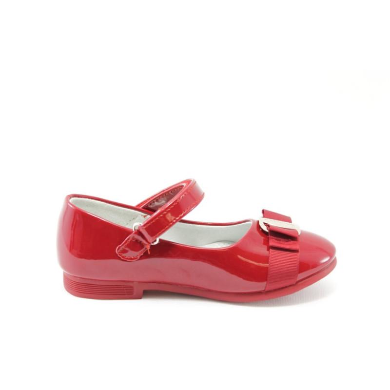 826889c6fd5 Детски пантофки червени с лепенка КА 199 червениKP