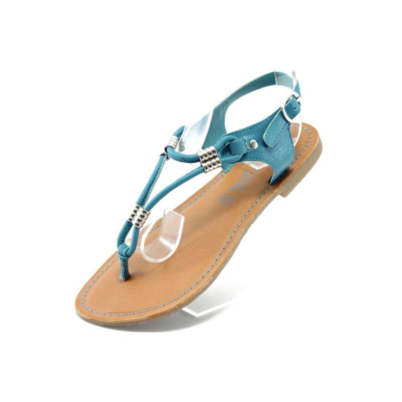 populärer Stil unverwechselbarer Stil 100% Zufriedenheit Дамски сини сандали равни Marco Tozzi 28133 синьоKP