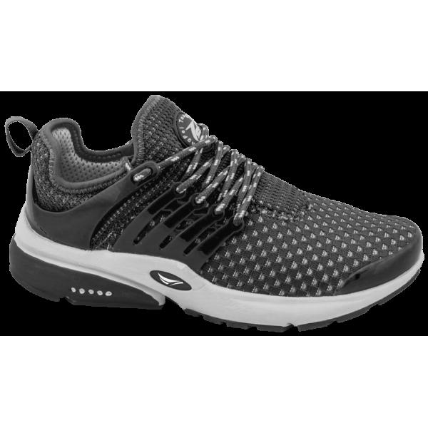 Черни дамски маратонки, текстилна материя - спортни обувки за пролетта и лятото N 100010308