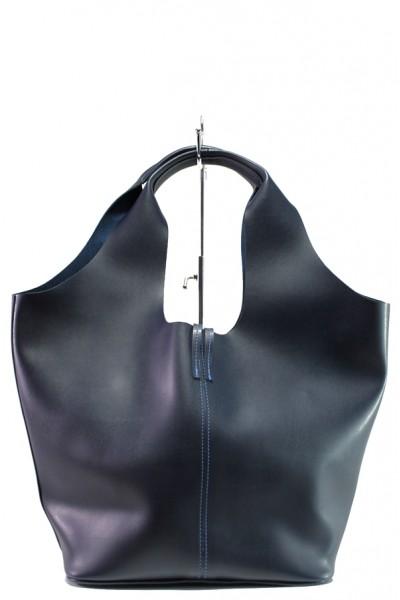 3f7dcfd90db Тъмносиня дамска чанта, здрава еко-кожа - удобство и стил за вашето  ежедневие N