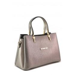 Сива дамска чанта, здрава еко-кожа - удобство и стил за вашето ежедневие N 100018228