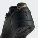 Черни тинейджърски маратонки, естествена кожа - спортни обувки  N 100017825