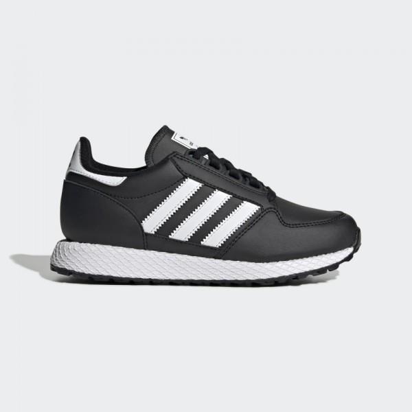 Черни тинейджърски маратонки, здрава еко-кожа - спортни обувки  N 100017826