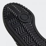Черни тинейджърски маратонки, здрава еко-кожа - всекидневни обувки  N 100017827