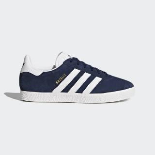 Сини тинейджърски маратонки, естествен велур - спортни обувки  N 100017829