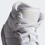 Бели тинейджърски маратонки, естествена кожа и еко-кожа - спортни кецове  N 100017839