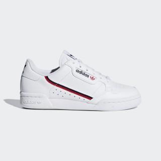Бели тинейджърски маратонки, естествена кожа - спортни обувки  N 100017845