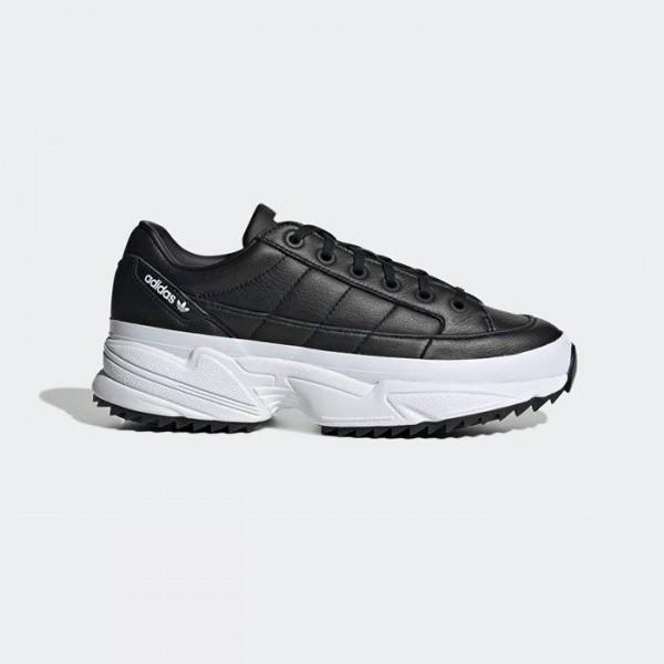 Черни тинейджърски маратонки, естествена кожа и еко-кожа - спортни обувки  N 100017763