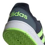 Тъмносини тинейджърски маратонки, естествен набук - спортни кецове  N 100017847