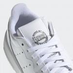 Бели тинейджърски маратонки, естествена кожа - спортни обувки  N 100017764