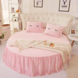 Спално бельо за кръгла спалня