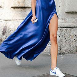 Какви рокли са подходящи за маратонки