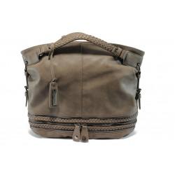 Кафява дамска чанта Marco Tozzi 61108 кафяваKP