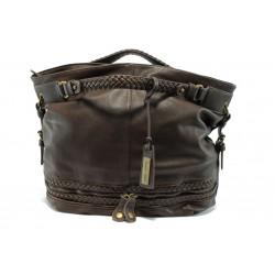 Кафява дамска чанта Marco Tozzi 61108 т.кафеKP