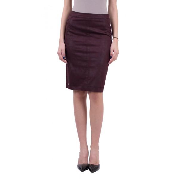 Дамска пола в бордо