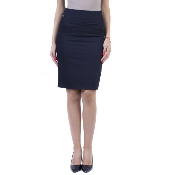 Синя дамска пола