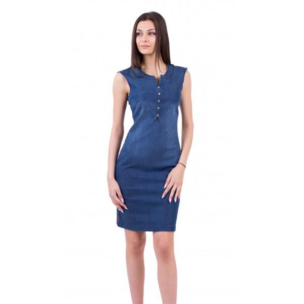 Лятна дънкова рокля