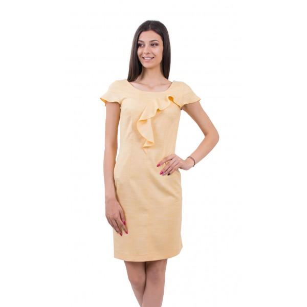 Дамска рокля - лен