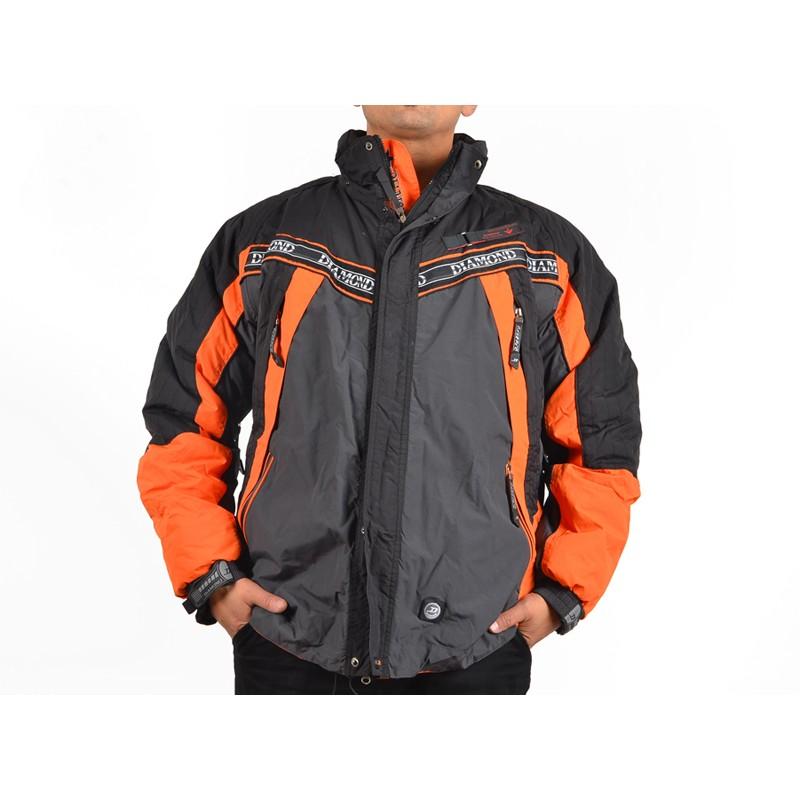 f6bfdd4a443 Мъжко ски яке оранжево ДД 0731KPS