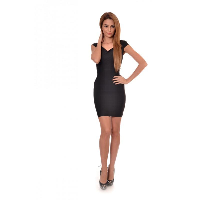 ac036fae594 Черна рокля по тялото