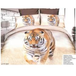 Спален комплект с 3D дизайн Дива котка