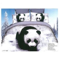 Спален комплект с 3D дизайн Голяма панда
