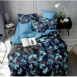 Сатениран спален комплект с 3D десен Tiami