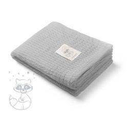 Бамбуково бебешко одеяло Лиси