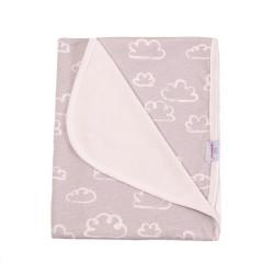 Облачета - одеяло за бебе от памук и бамбук