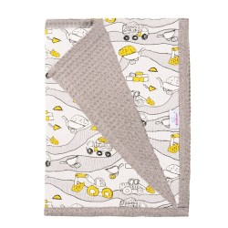 Памучно бебешко одеяло Строител