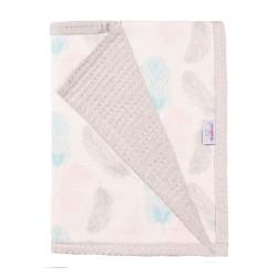 Памучно бебешко одеяло Листенца