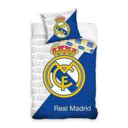 Памучен 3D спален комплект Реал Мадрид 1