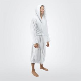 Бял халат за баня - Стил
