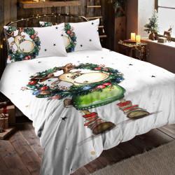 Единичен спален комплект Коледно Еленче