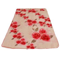 Одеяло декор рози DF пано печат – 150/200