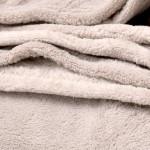 Бежово одеяло – микрофибър