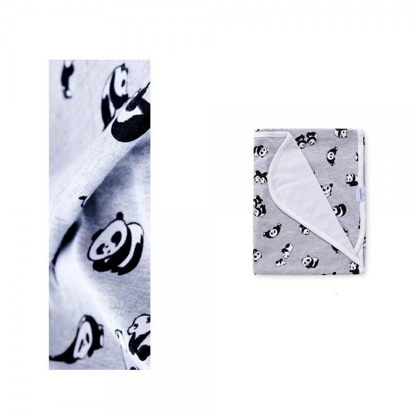 Бамбуково одеяло за бебе - Малка панда