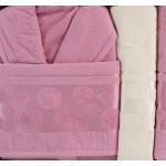 LUX комплект халати и кърпи Естел - 100% памук