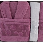 LUX комплект халати и кърпи Ерика - 100% памук