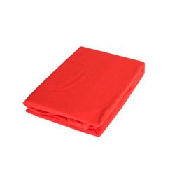 Червен чаршаф с ластик - Памук