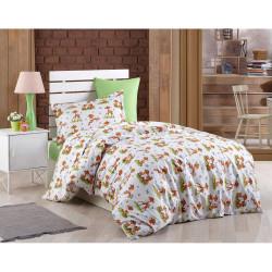Памучен бебешки спален комплект Грация