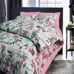 Памучен спален комплект Кларис