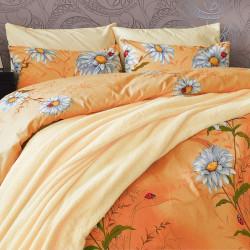 Памучен спален комплект Маргаритки