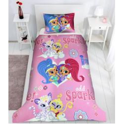 Детски спален комплект за момичета - 100% Ранфорс