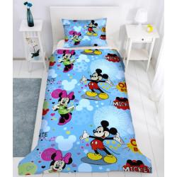100% Памучен спален комплект за деца и юноши - Мики и Мини