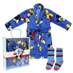Детски комплект Mickey - халат с чорапки