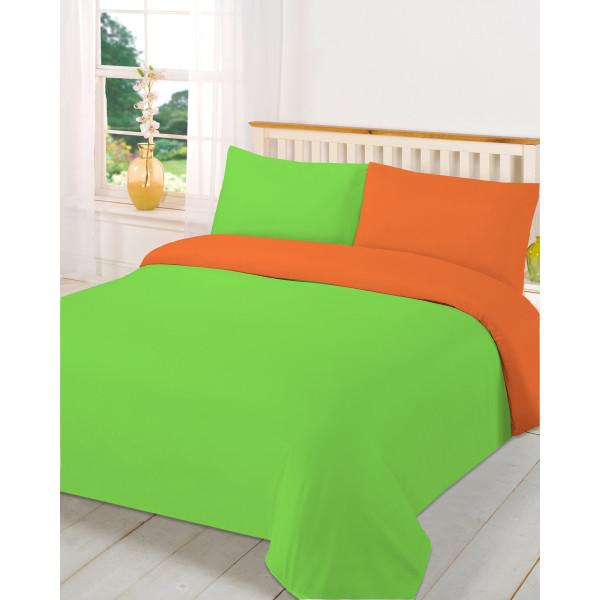 Двуцветен спален комплект със завивка З-О
