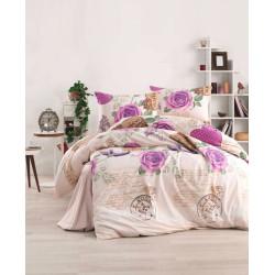 Дизайнерски памучен спален комплект Чара